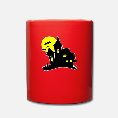 House Halloween Haunted House Haunted House - Tazza monocolore