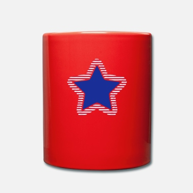 Stars And Stripes USA Star Stars & Stripes Marine - Full Colour Mug