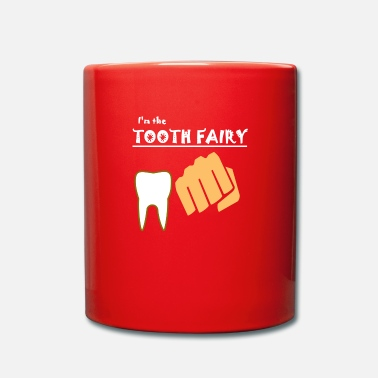 Poingt fée des dents, dent, poing, coups, mordu - Mug uni