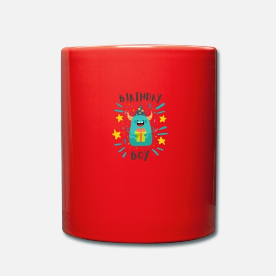 Birthday Mugs & Drinkware - Birthday Boy Boy Birthday Boy - Mug red