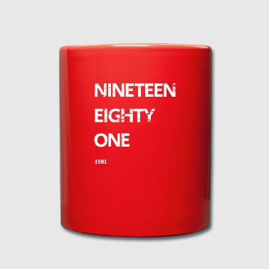 Nineteen Eighty One - Full Colour Mug
