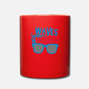 Shade waves and shades - Full Colour Mug