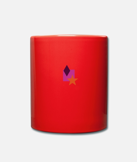 Hipster Mugs & Drinkware - Hip Style - Mug red