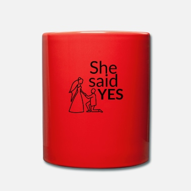 Celibenubile She said yes - Tazza monocolore
