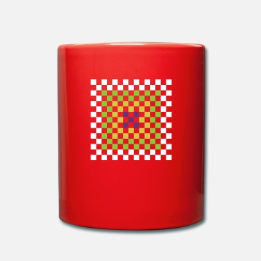 Square squares - Full Colour Mug