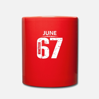 Jersey Number June 1967 Jersey Number - Full Colour Mug