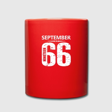 September 1966 Jersey Number - Tasse einfarbig