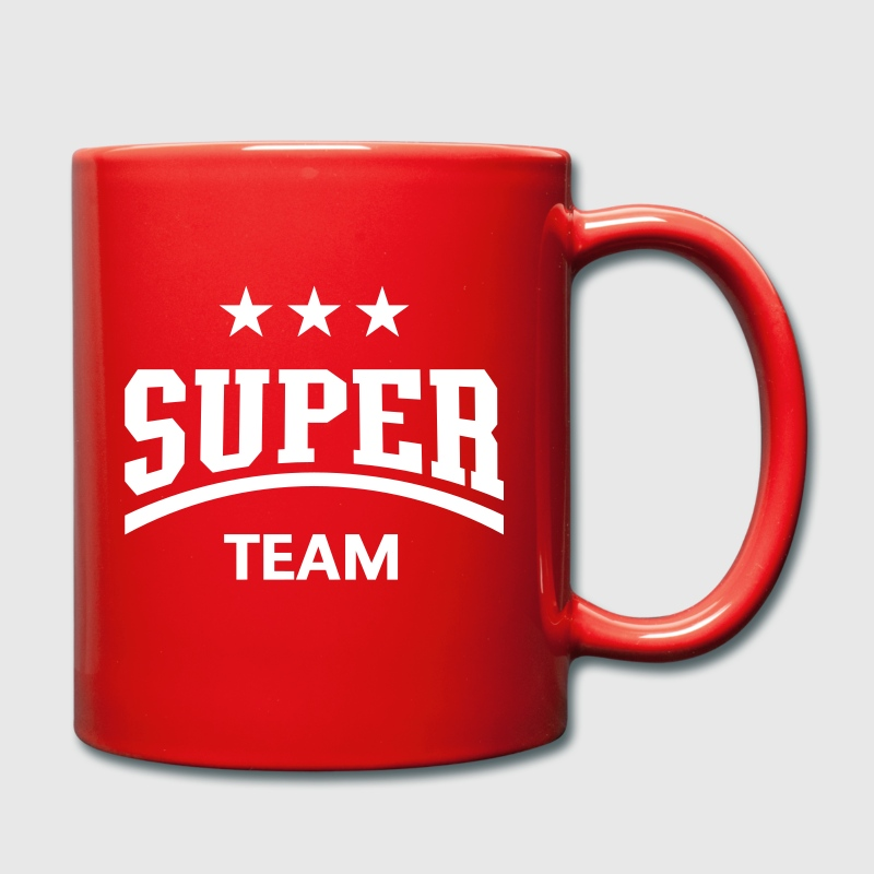Super Team - Full Colour Mug