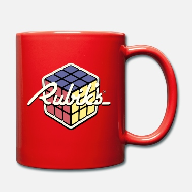 Rubik's Cube Retro Style - Full Colour Mug