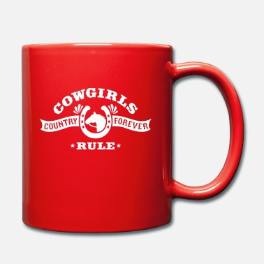 Country &amp COWGIRLS RULE - Mug