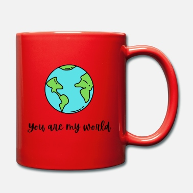 Saint Valentin You Are My World - Mug