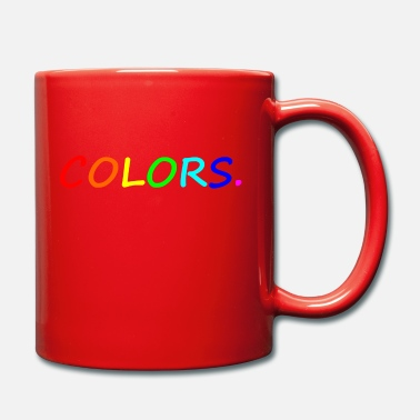 Colorful COLORS / colors / colorful / rainbow - Mug