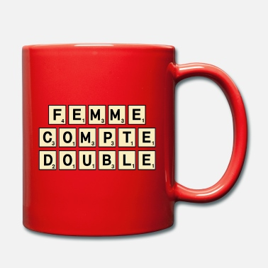 Scrabble SCRABBLE WOMAN - Full Colour Mug