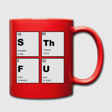 STFU Square - Full Colour Mug