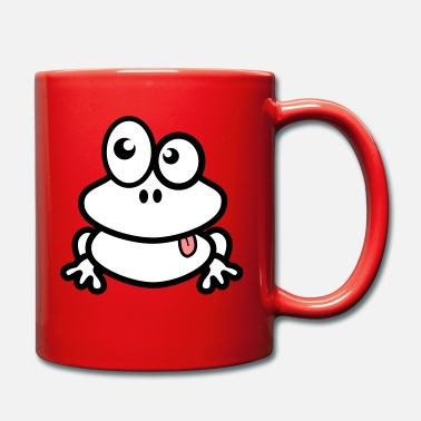Frog cartoon comic style - Full Colour Mug