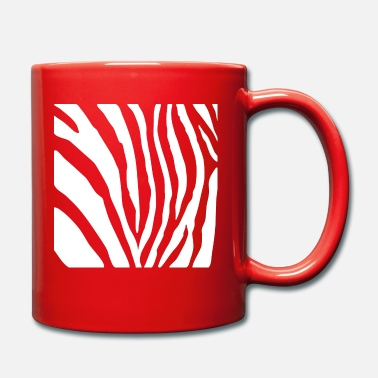 Zebra Pattern - Safari / Wilderness Afrique - Mug