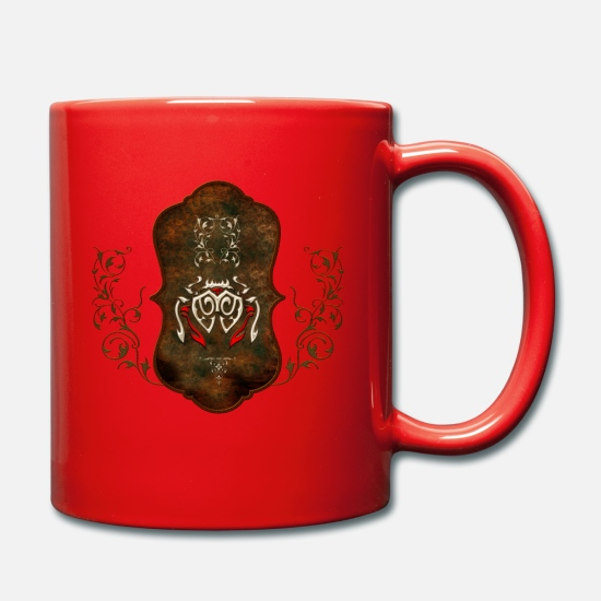 Animal Mugs & Drinkware - Decorative chandelier - Mug red