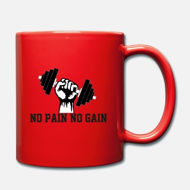 No Pain No Gain haltère no pain no gain - Mug