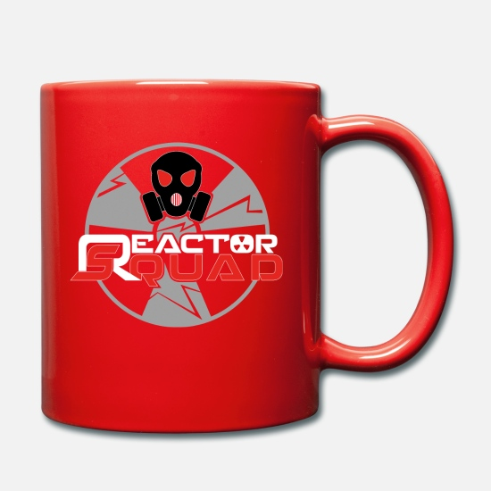 Esports Mugs & Drinkware - Reactor Squad - Mug red