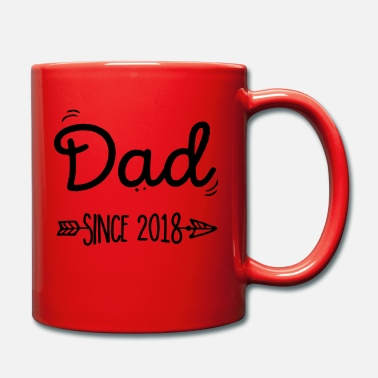 2018 dad since 2018 - Mug uni