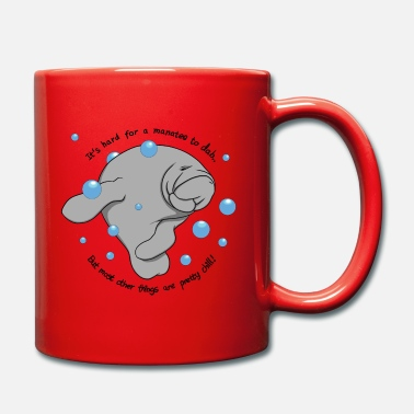 Manatee Dab - Full Colour Mug