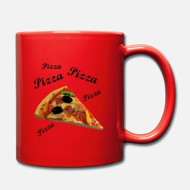 Pizza Pizza pizza pizza - Taza de un color