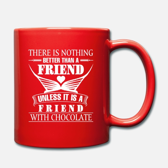 Gift Idea Mugs & Drinkware - there is nothing - Mug red