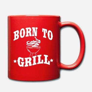 Scottare Un bel t-shirt per grigliate per Griller che dice Born To - Tazza