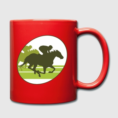 Gallop Gallop, horse , stallion, mare - Full Colour Mug