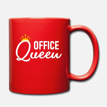 Domina Office Queen - Office Queen - Zicke - Diva in white - Full Colour Mug