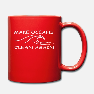 Clean W It Is make oceans clean again w - Mug