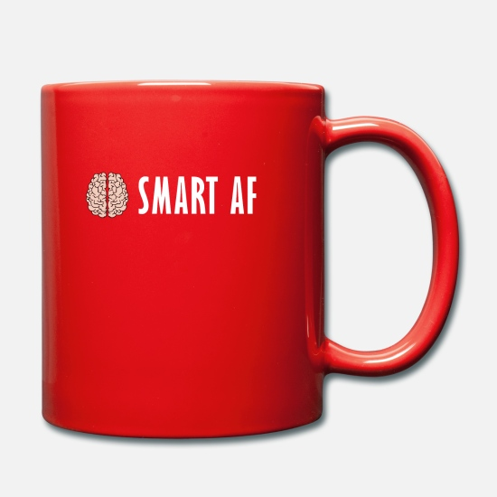 Physique Mugs et récipients - Smart - Smart - AF intelligent - Mug rouge