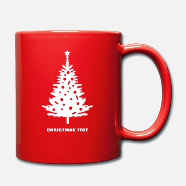 christmas tree, christmas, new year, rockefeller - Mug