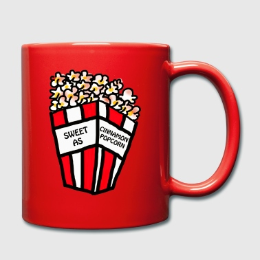 Sweet as cinnamon popcorn - Full Colour Mug