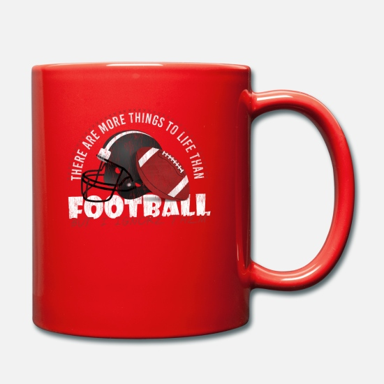 Gift Idea Mugs & Drinkware - Football Gift Idea Gift Idea Sport Game - Mug red