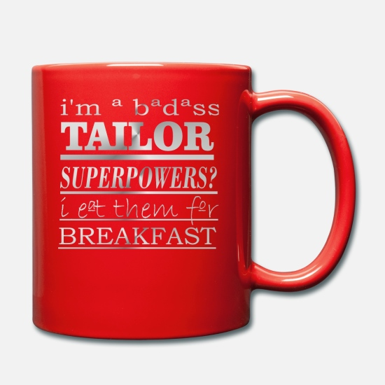 Cool Mugs & Drinkware - TAILOR - Mug red
