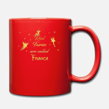 Franca fee fairies fairy vorname name Franca - Tasse