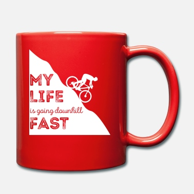 Mountainbike Mountainbiken - Mountainbike - Mountainbiker - Tasse
