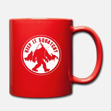 Sasquatch Bigfoot Sasquatch - Mug