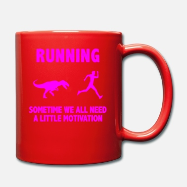 Fun Run Run Triathlon Motivation Chemise & Cadeau - Mug