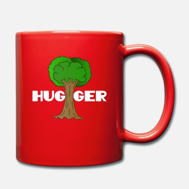 Enviromental Beautiful Nature Tree Tshirt Design Hugger Tree - Mug