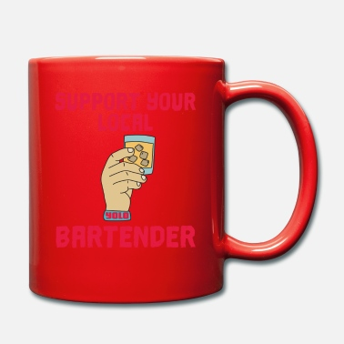 support Shots Party Alcohol trust me Bartender - Mug