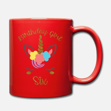 Girls Birthday Girl Six - Mug