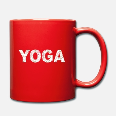 Health Yoga India Peace Health - Mug