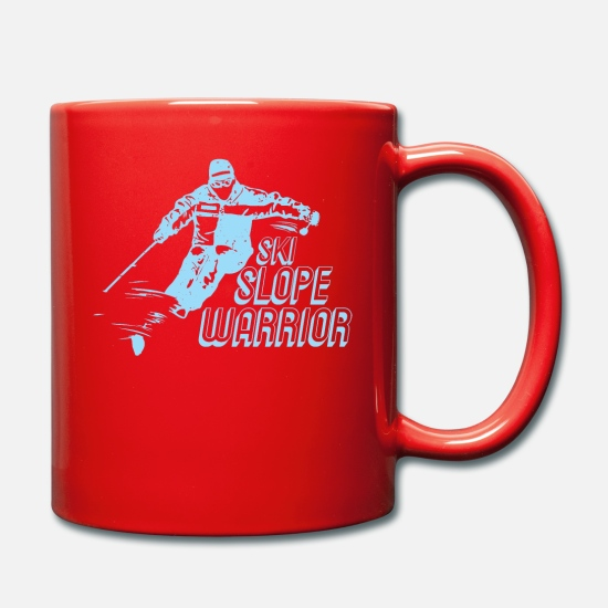 Birthday Mugs & Drinkware - ski - Mug red