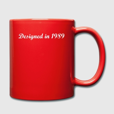 Designed in 1989 - Tasse einfarbig