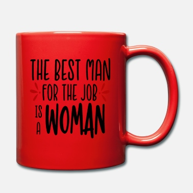 Job THE BEST MAN - Mug