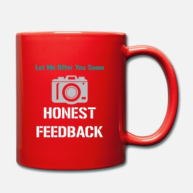Pun &amp Funny Feedback Tshirt Designs Honest Feedback - Mug