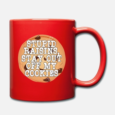 Bloom Stupid Raisins, Stay Out Of My Cookies tee - Full Colour Mug