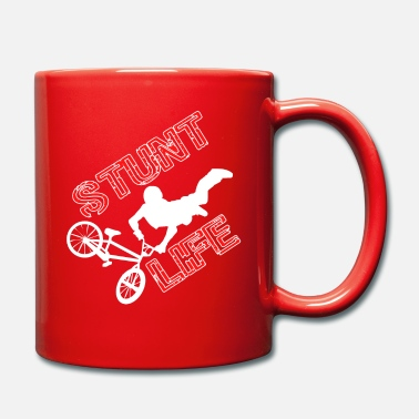 Creative Are born as an exhibitionist? Bike lover? Now you - Full Colour Mug